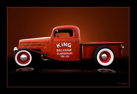 King Salvage truck